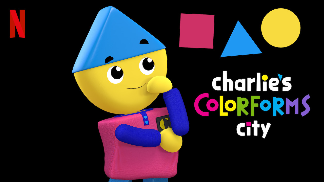 Charlie's Colorforms City on Netflix // Spark Creativity